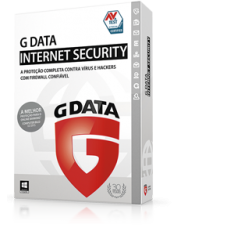G DATA  INTERNET SECURITY 2017 (2PC 1 ano)