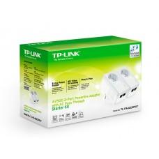TP-Link AV500 2-Port Powerline Adapter with AC Pass Through Starter Kit