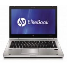 """HP 8460P i5 2520M 2.53GHZ 4GB 250GB 14.1"""" DVD W7Pro"""